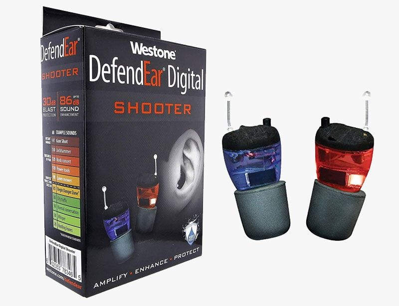 Westone Defend Ear DIgital Shooter Hearing Aids
